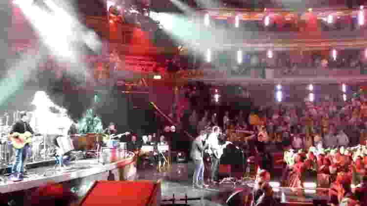 Jorge & Mateus tocam no Royal Albert Hall, em Londres - Reprodução/YouTube - Reprodução/YouTube