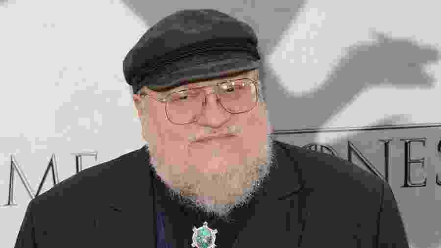 "George R.R. Martin, criador de ""Game of Thrones"" - Getty Images"