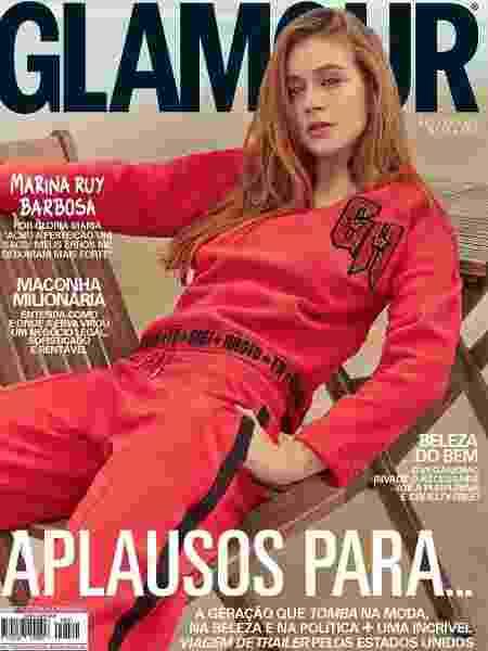 """Marina Ruy Barbosa na capa da revista """"Glamour"""" de outubro - Reprodução/Instagram"""