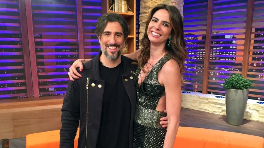 Marcos Mion lembra quando sua mulher foi diagnosticada com câncer de mama em entrevista a Luciana Gimenez - Divulgação/RedeTV!
