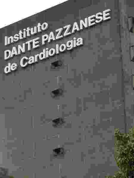 Fachada do Hospital Dante Pazzanese, na Vila Mariana - Guilherme Lara Campos/Folhapress - Guilherme Lara Campos/Folhapress