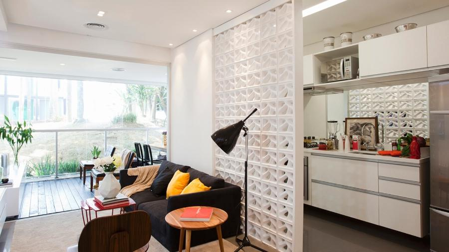 Cobogó é recurso bem brasileirinho e versátil na decoração de ambientes - Divulgação