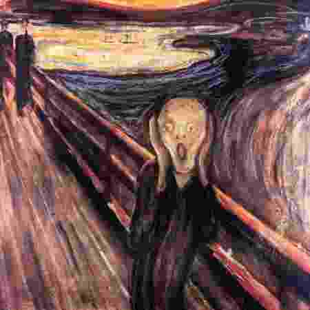 "Quadro ""O Grito"", de Edvard Munch - AFP PHOTO / KATRINE"