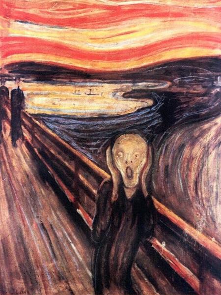 """Quadro """"O Grito"""", de Edvard Munch - AFP PHOTO / KATRINE"""