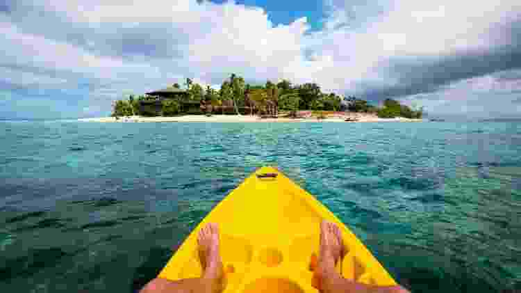 Ilha tropical em Fiji - iStock
