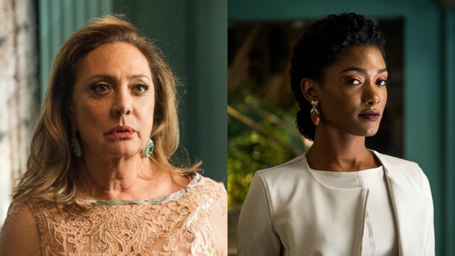 """Nádia terá que cuidar de Raquel em """"O Outro Lado do Paraíso"""" - Divulgalção/Raquel Cunha/Globo"""
