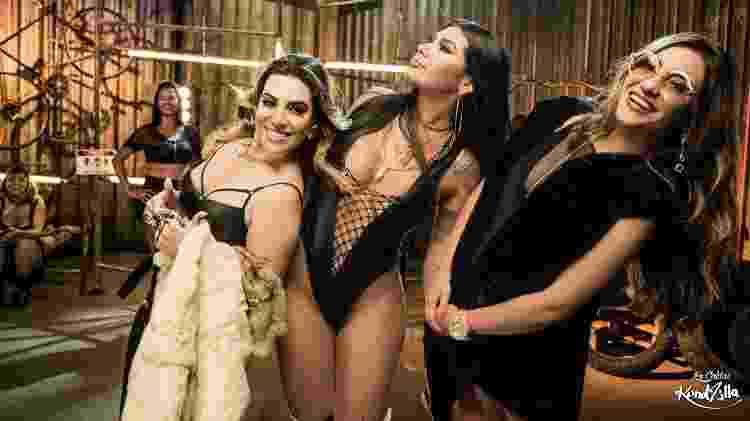 """Dani Russo, MC Pocahontas e Naiara Azevedo se reúnem em """"Oh Quem Voltou"""" - Divulgação - Divulgação"""