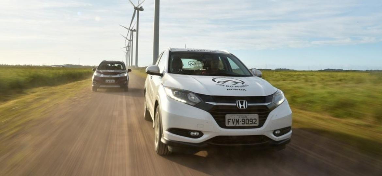 Honda HR-V e WR-V: dois carros comuns, apenas com estepes alterados - O Mundo em Movimento