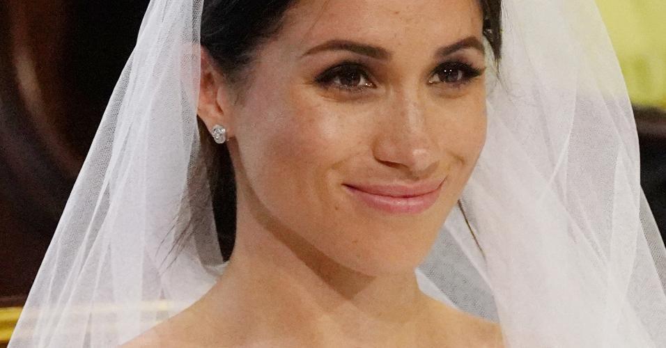 Sardas de Meghan Markle ficam em evidência durante casamento real