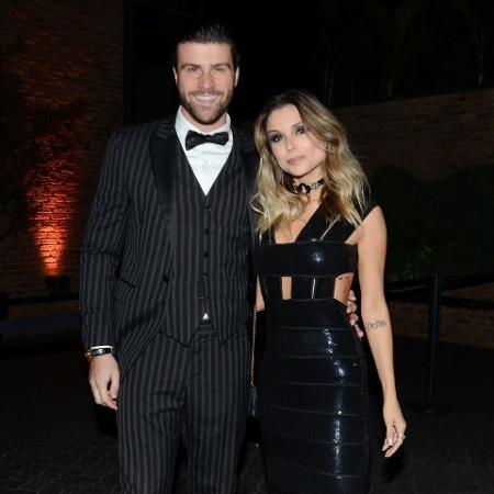Marcelo Zangrandi e Flávia Viana prestigiam aniversário de MC Gui - Ag.News