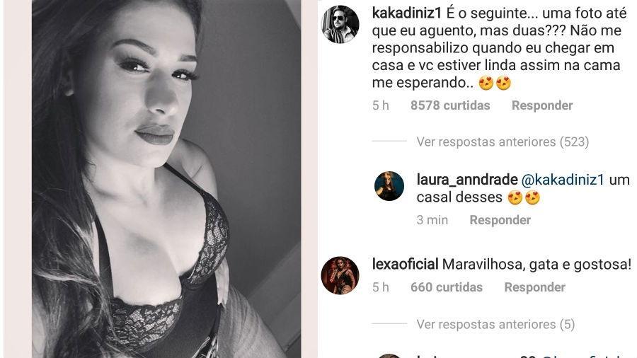 Simone posta foto ousada e marido comenta - Reprodução/Instagram
