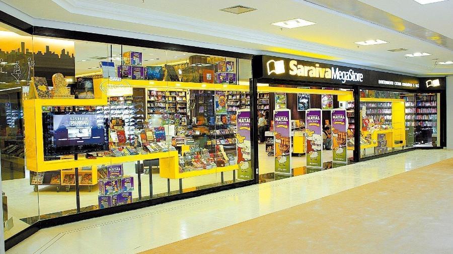 Empresa não confirma a relação das livrarias fechadas - Reprodução