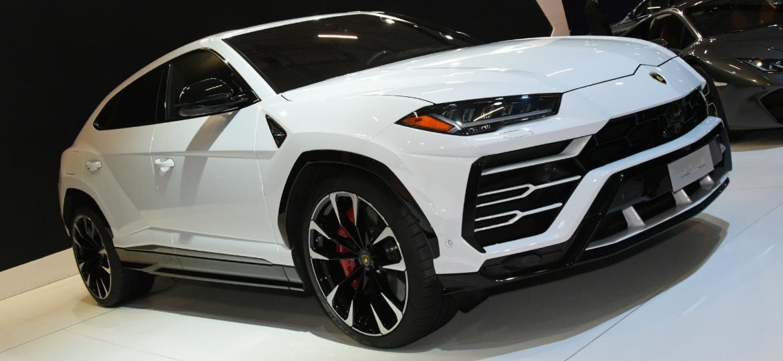 Lamborghini Urus, SUV da marca italiana, marcou presença no Salão do Automóvel de SP este ano - Murilo Góes/UOL