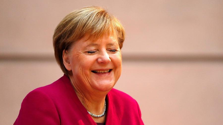 """Angela Merkel, chanceler alemã, eleita pela """"Forbes"""" como a mulher mais poderosa do mundo - Reuters"""