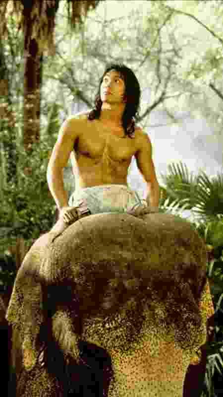 """Jason Scott Lee em cena de """"O Livro da Selva"""" (1994) - IMDB/Divulgação - IMDB/Divulgação"""