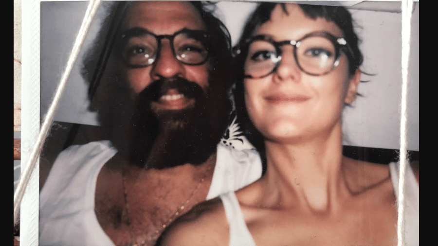Marcelo Camelo e Mallu Magalhães em clique publicado pela cantora - Reprodução/Instagram