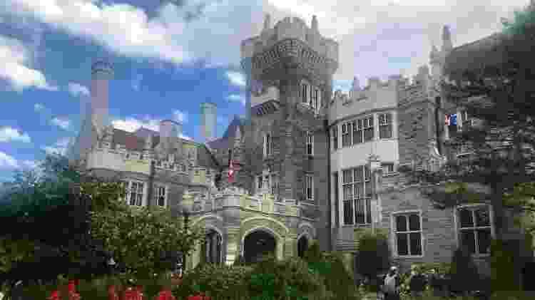 Casa Loma, castelo em Toronto usado por Hollywood para gravações como X-Men - Andrea Miramontes/UOL - Andrea Miramontes/UOL