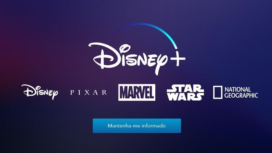 Site do Disney + já está no ar no Brasil - Reprodução