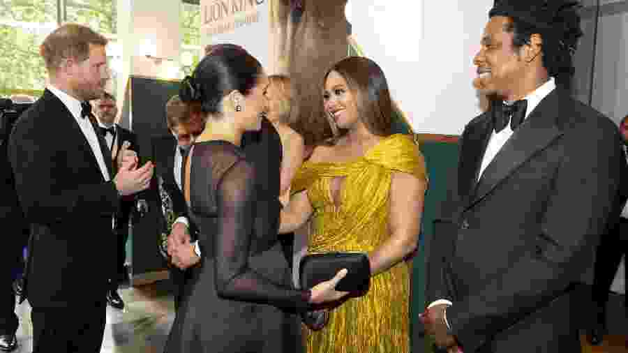 "Príncipe Harry, Meghan Markle, Beyoncé e Jay-Z - Niklas Halle""n-WPA Pool/Getty Images"