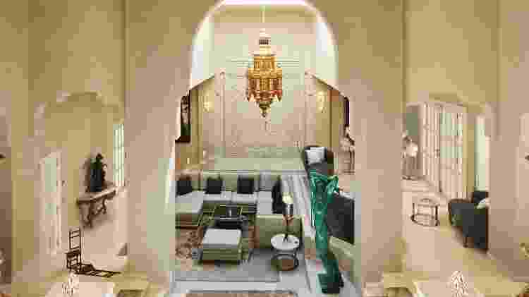 Salão da Villa Del Mar - Belen Arriaza/Marbella Club Hotel
