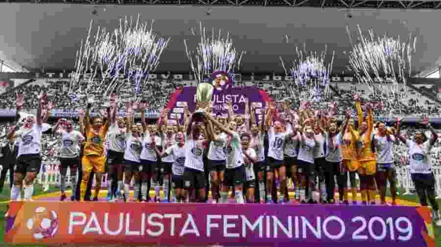 Corinthians é o campeão do Campeonato Paulista - Reprodução / Instagram