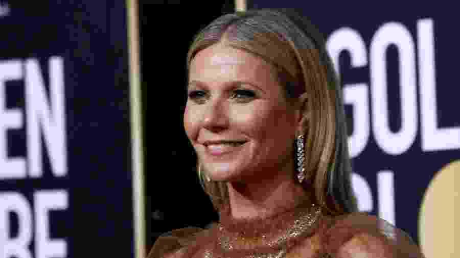Gwyneth Paltrow no Globo de Ouro 2020 - Mario Anzuoni/Reuters