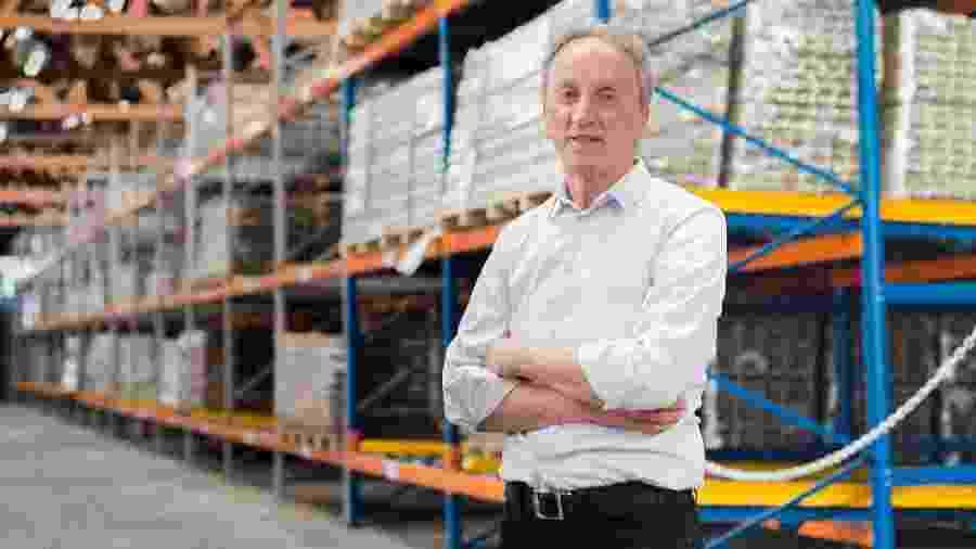 Claudio Zini, 70, é diretor-presidente da Pormade Portas - Divulgação/Pormade