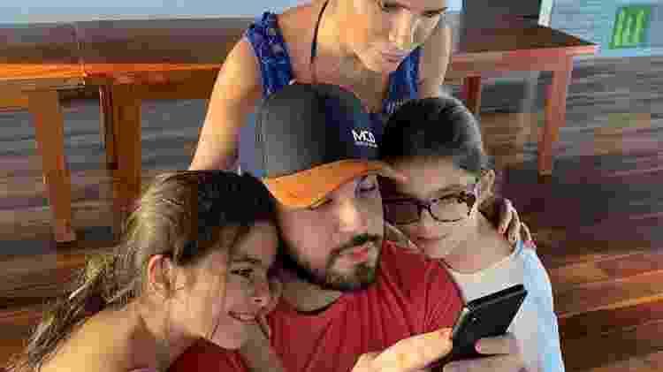 Luciano Camargo e família - Reprodução - Reprodução