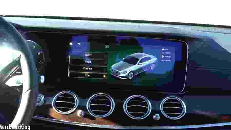 Visual do novo Mercedes Classe E é revelado em vídeo - Reprodução