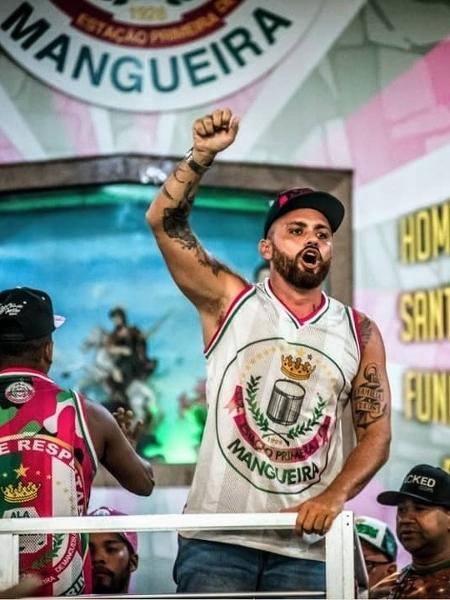 Leandro Vieira, carnavalesco da Mangueira - Reprodução/Instagram