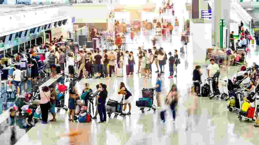 Quase 75% dos turistas cancelaram viagens em fevereiro e março para países do Sudeste Asiático - Getty Images/iStockphoto