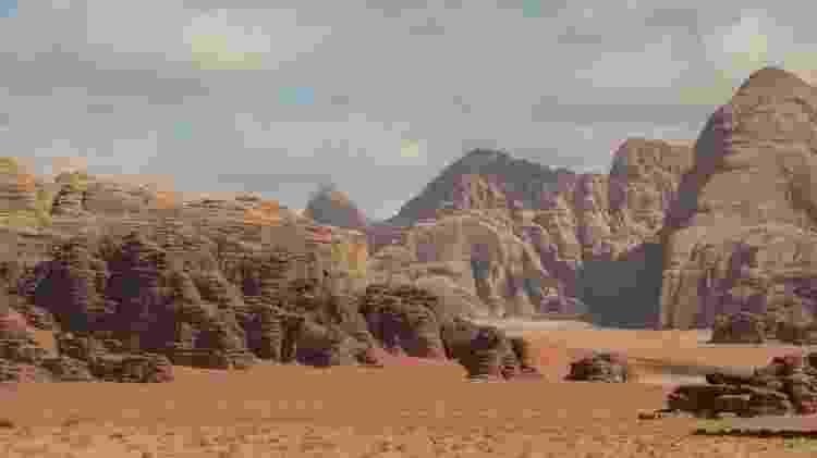 Wadi Rum - Paisagem - Marcel Vincenti/Arquivo pessoal - Marcel Vincenti/Arquivo pessoal