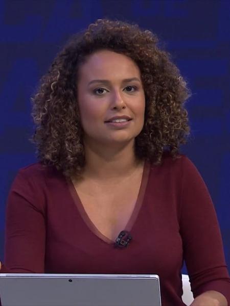 Karine Alves é a nova contratada do Esporte da Globo  - Divulgação