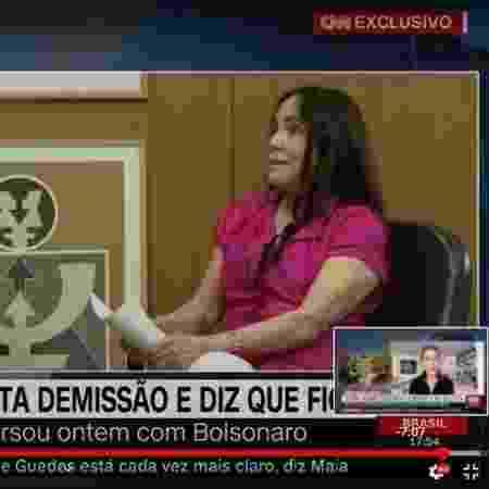 regina duarte - reprodução/CNN - reprodução/CNN