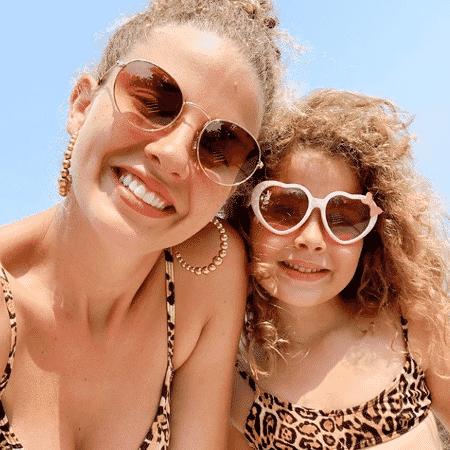 Debby Lagranha e a filha, Maria Eduarda - Reprodução / Instagram