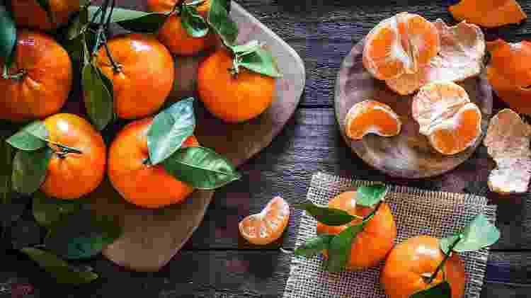 Quem resiste ao gostinho característico das tangerinas - Getty Images - Getty Images