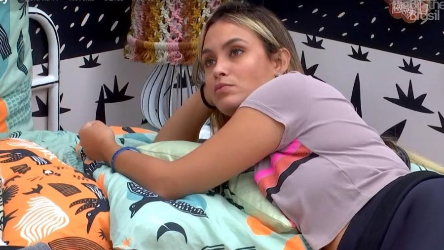 BBB 21: Sarah conversa no quarto cordel - Reprodução/ Globoplay