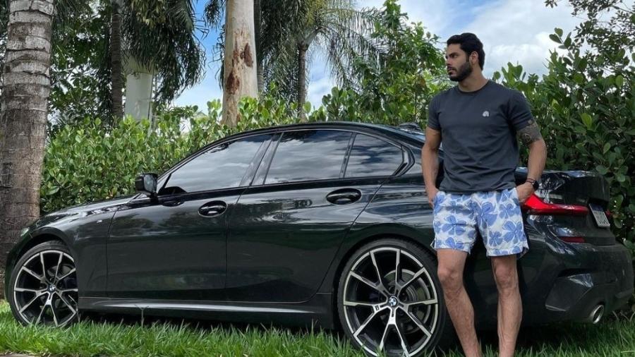 BMW 330i M Sport de Rodolffo, BBB 21 - Instagram