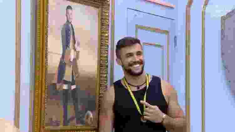 BBB 21: Arthur quarto do líder - Reprodução/Globoplay - Reprodução/Globoplay