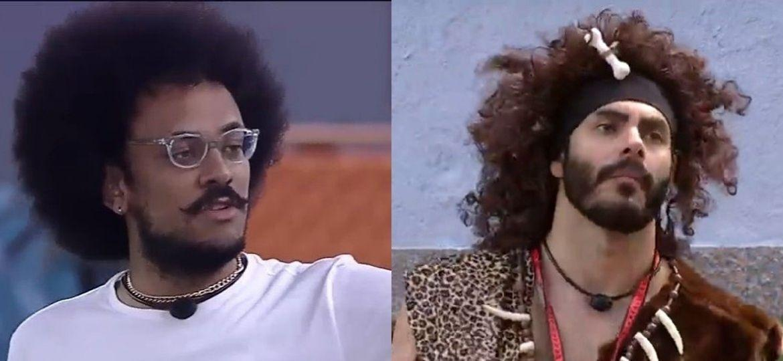João e Rodolffo do BBB21 geraram discussões sobre racismo e lugar de fala. - Rede Globo/Reprodução