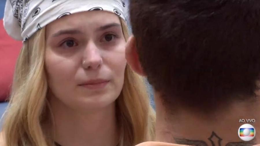 BBB 21: Viih Tube chora e diz que não conseguiria votar em Arthur - Reprodução/ Globoplay