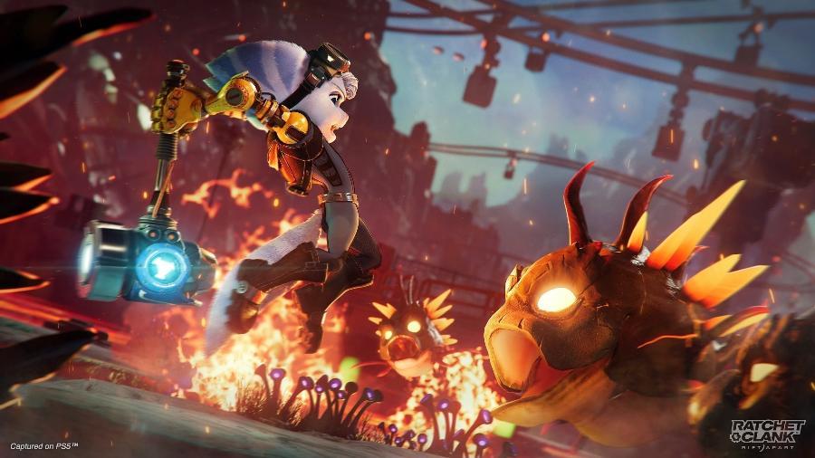 Ratchet and Clank Em Uma Outra Dimensão é o próximo jogo exclusivo de PS5 - Divulgação/Sony