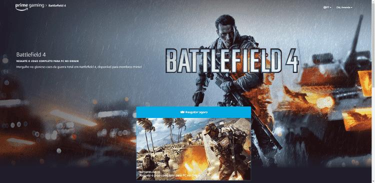 Battlefield 4 Resgate - Reprodução/AmandaSantos - Reprodução/AmandaSantos