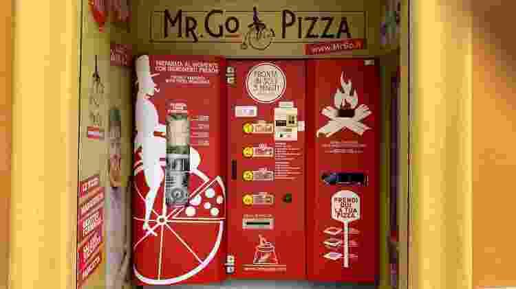 "Mr. Go: máquina desafia tradição na ""capital da pizza - dpa/picture alliance via Getty Images - dpa/picture alliance via Getty Images"
