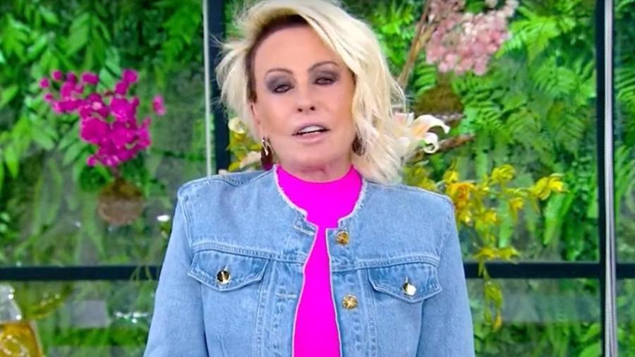 Ana Maria Braga agradece comentários e diz que aprende com as críticas - Reprodução/TV Globo