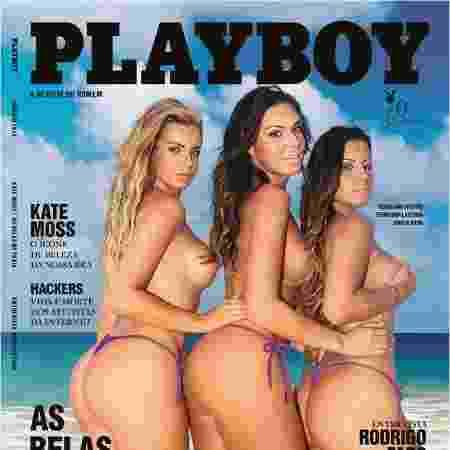Aricia na Playboy - Divulgação/Playboy - Divulgação/Playboy