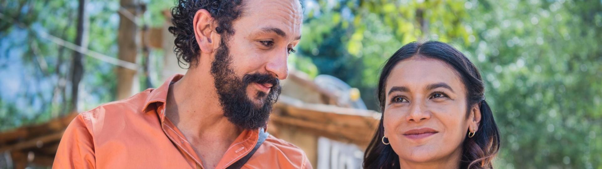 O casal Bento (Irandhir Santos) e Beatriz (Dira Paes) caiu nas graças dos telespectadores de