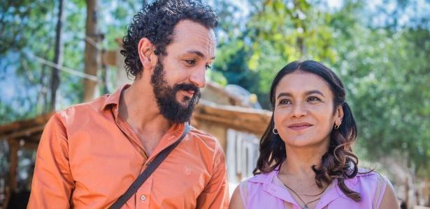 O casal Bento (Irandhir Santos) e Beatriz (Dira Paes) caiu nas graças dos telespectadores - Caiuá Franco/TV Globo
