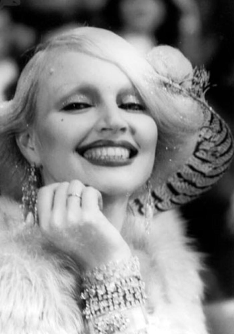 Elke Maravilha à la Marilyn Monroe