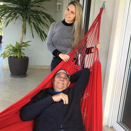 Marcelo Rezende e a namorada - Reprodução/Instagram marcelorezende.oficial